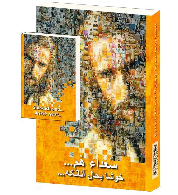 4-in-1-Ausgabe Deutsch/Tigrinya/Farsi/Arabisch
